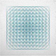 #436 Vortex – A new minimal geometric composition each day