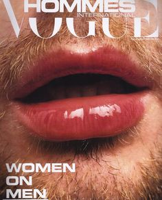 ph: Hee Jin Kang, 2002 #photo #beard #lips #men