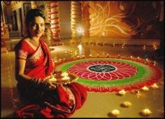 Diwali diya rangoli designs