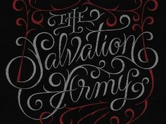 Typography / The Salvation Army by Simon Ålander