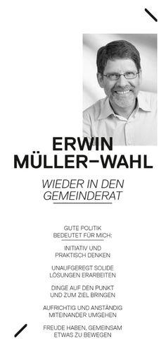 Flyer Gemeinderatswahlen #bubendorf #flyer #gemeinderatswahlen
