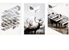 Mark Brooks Graphik Design » SWAAN + CHRISTOS #print #poster