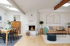 Attic apartment from Gothenburg, Sweden interior light, freshness and a wonderful view - www.homeworlddesign. com (7) #apartments #design #interiors #home
