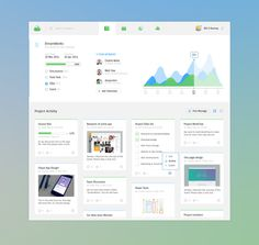 Dashboard #dashboard #graph #web