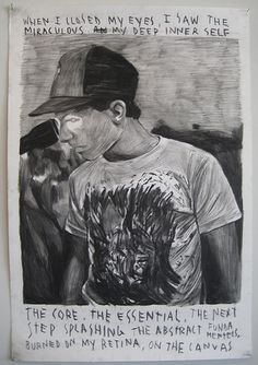 Rinus Ven De Velde #charcoal #drawing #art #fine