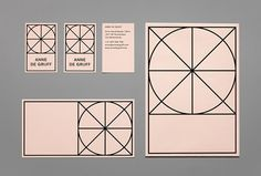 Anne De Grijff by Mainstudio #sttionary #graphic design #graphic #shapes