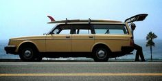 volvo #vintage #car #surf
