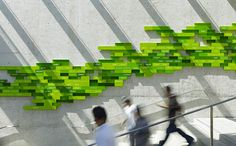 Oakland Museum of California. Designed by Skidmore, Owings & Merrill. @enviromeant.com #wall graphics