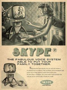 Faux retro ad #poster #graphic #faux vintage