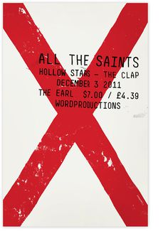 http://www.alvindiec.com/indexhibit/files/gimgs/4_posterallthesaints01_v2.jpg #design #poster