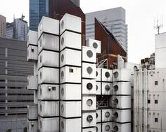 Nakagin Capsule Tower 1 #capsule #building #architecture #cube