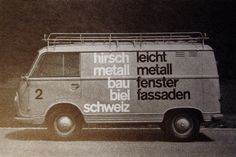 Autografik | Flickr - Photo Sharing! #swiss #van #design #graphic #minimal