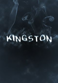 Kingston @ The Home of Awesome #awesome #typography