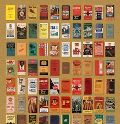 Aaron Draplin's Field Notes Memo Book Archive #memo #field #aaron #books #notes #draplin #vintage
