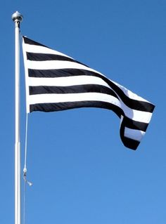 . #white #stripes #black #simple #and #flags