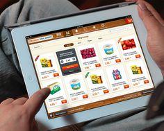 Migros iPad App #ipad #migros #app #mobile