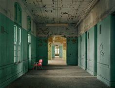 Typical Ward, Buffalo State Hospital, New York #photography