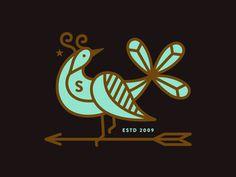Arrow Bird #simple #fun #graphic #clean