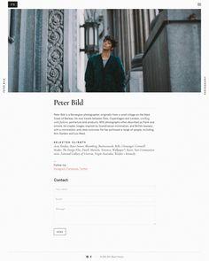Bild — WordPress Photography theme - Mindsparkle Mag - Peter Bild is a photographer using a WordPress Photography theme by Mauer Themes fo