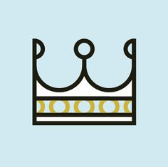 crown #crown #pictogram #roccobarbaro #icons #grid #sins
