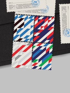 World Cup Stamps 2014 on Behance #stamps