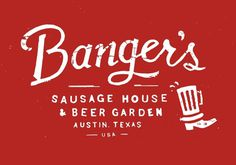Neighborhood Studio - BANGER'S #design #graphic #food #illustration #identity #typography