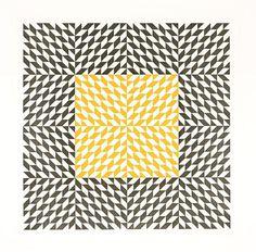Anni Albers design. #pattern #textile #anni albers