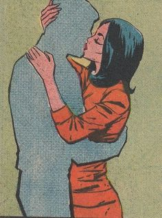 tumblr_l31zmnk2Dq1qa3ofyo1_500.jpg (500×671) #illustration #vintage #comic #comics #kiss #comic book