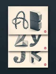 Typography inspiration | #438 « From up North | Design inspiration & news