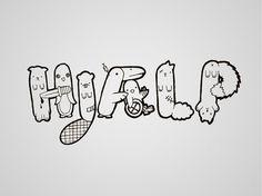 hjaelp_1.jpg 700×525 pixels #lettering #help #illustration #hjlp #typography
