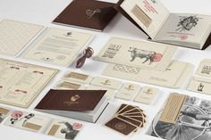 Looks like good Identity by Reynolds and Reyner #branding #print #design #restaurant #identity