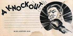 Boxed Out #ko #boxing #illustration #sports #knockout #typography
