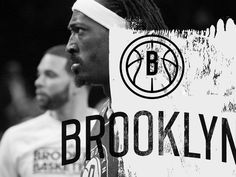 BROOKLYN NETS REDO — DERRICK C. LEE #white #nets #brooklyn #& #black #logo #identity #type #nba #basketball