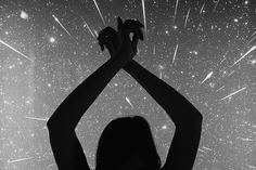 Untitled | Flickr - Photo Sharing! #isabelle #shooting #sky #night #stars #arms #laydier #hands