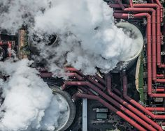 AERIAL VIEWS Industry on Behance #photo #industry