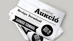 Ajándék Terminal Christmas identity / 2011 on the Behance Network #white #black #and #layout #typography