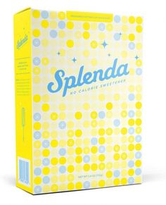 Splenda : Graphic Design + Art Direction #packaging #splenda #pattern #food