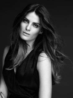 Isabeli Fontana — The New Ambassador of L'Oréal Paris #model #girl #photography #portrait #fashion