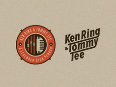 Dribbble - Identity Explorations for Ken Ring & Tommy Tee by Emir Ayouni | Growcase #logo #identity #branding