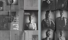 THEARTISTANDHISMODEL » Blog Archive » London College of Fashion Quarterly Fanzine