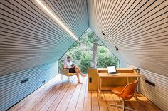 How an Old Outbuilding Became a Writer's Workshop and a Garden Room for Guests