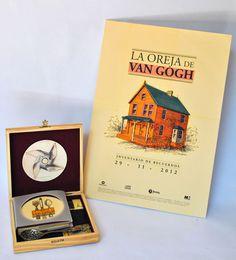 La Oreja de Van Gogh. edicion de lujo http://www.behance.net/gallery/La-Oreja-de-Van-Gogh-edicion-de-lujo/6118909 #gogh #van #design #de #la #oreja #typography
