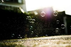 All sizes | #sun #bubbles #blur #dust #bokeh