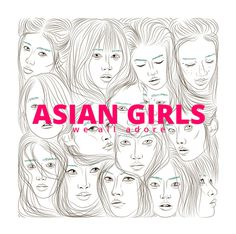 Asian Girls #poster #cover #asian #girl #face #ukraine #poland