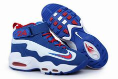 Air Griffey Max 1 White/Game Royal-Varsity Red Nike Mens Size Shoes #shoes