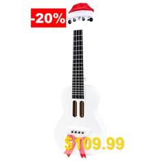Populele #X1 #23 #inch #Christmas #Limited #Edition #LED #Smart #Ukulele #( #International #Version #) #- #WHITE