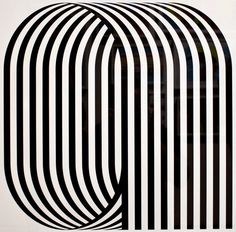 I love the almost op art style of these letters. ... | Type Worship