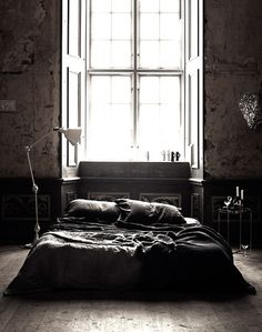 CJWHO ™ (Black luxury bedroom by Lotta Agaton) #design #interiors #bedroom #black #agaton #photography #lotta #luxury