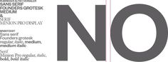 Founders Grotesk & Minion Serif #serif #minion