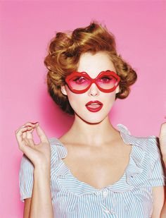 Fashion photography #pink #sunglasses